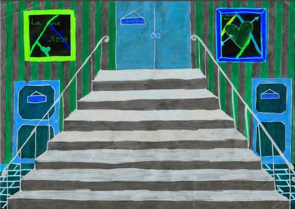 Escaliers Maïssane - CM2 - Avril 2019