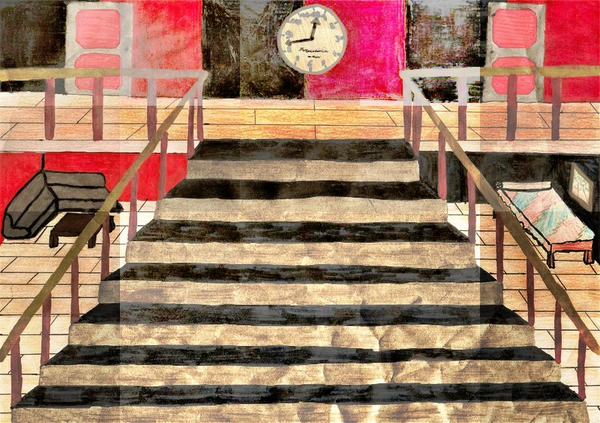 Escaliers - Anissa - CM2 - Avril 2019