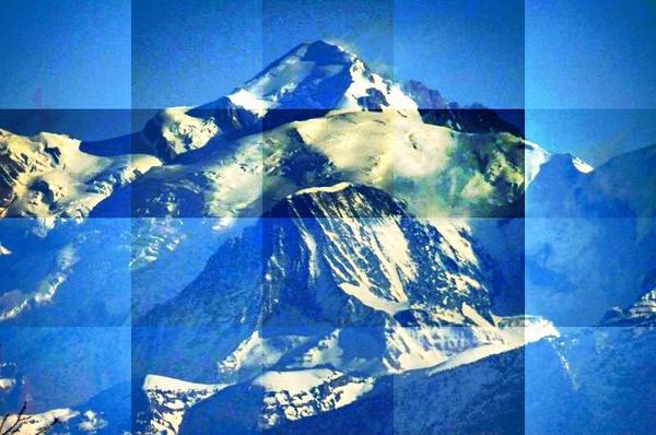 Le Mont-Blanc - Alpes