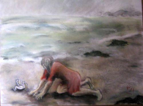 Rejetées par la mer