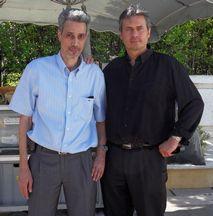 Omar Raddad et Roger-Marc Moreau