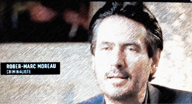 Le criminaliste Roger-Marc Moreau