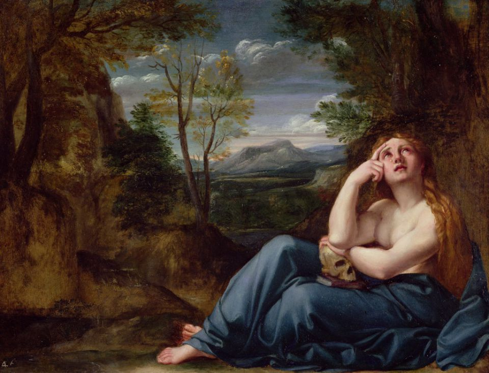 I Write about Mary Magdalene