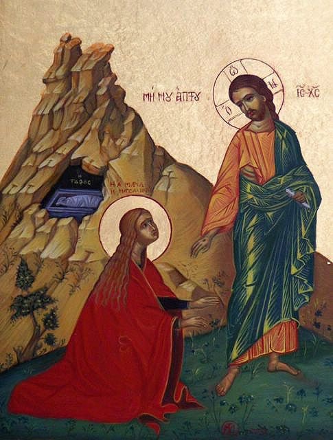 CRUCIFIXION was not the end       - I write about Mary Magdalene