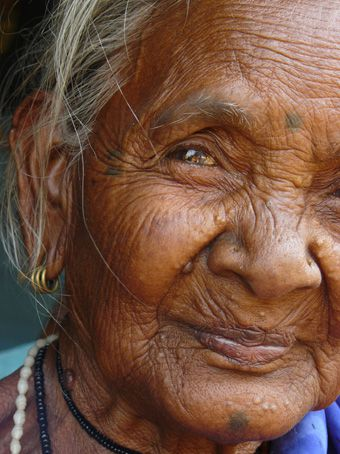 Femme tribale - Sud Orissa