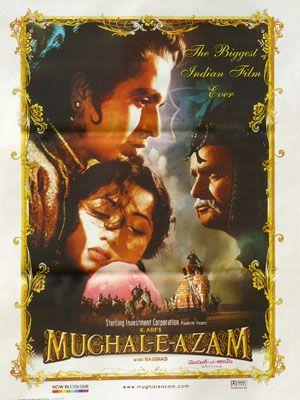 Mughal-e-Azam / Bollywood de 1960 et de K.Asif