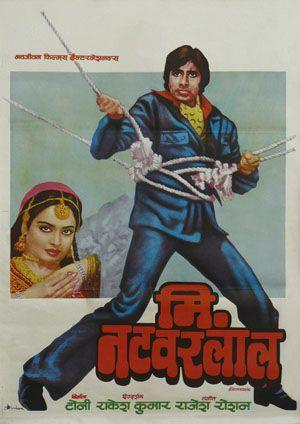 Mr Natwarlal / Bollywood de 1979 avec Amitabh Bachchan