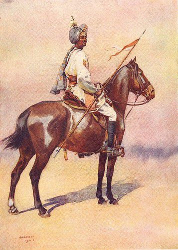 Jodhpur Sardar risala Ratore Rajput 1911