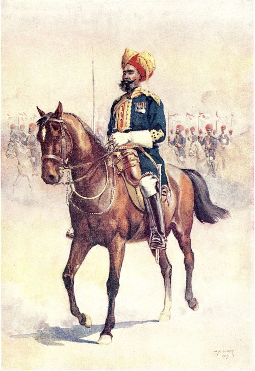 Officer of the 14th Murray's Jat Lancers