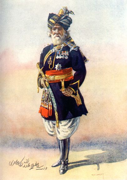 Officer of the 15th Lancers (Cureton's Multanis)