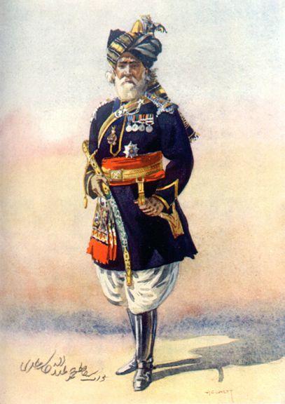 Officer of the 15th Lancers (Cureton's Multanis)