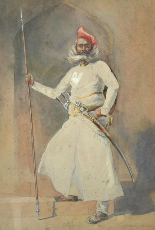 Rajput soldier