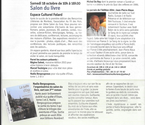 ARTICLE MORIERES MAGAZINE SEPT 2014.jpg