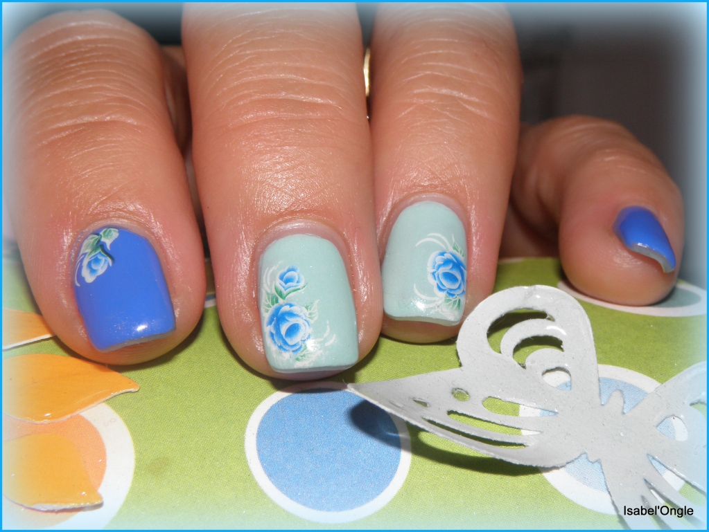 complétement accro aux water decals - isabel'ongle