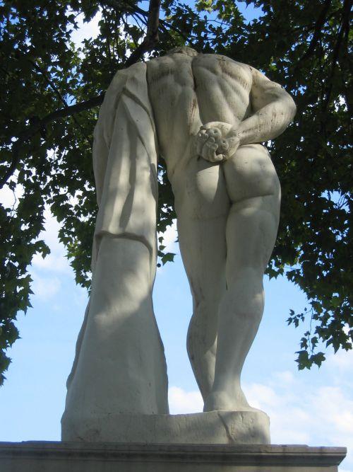 Hercule Farnèse - Gionnani Commino 1670 marbre d'après l'antique.
