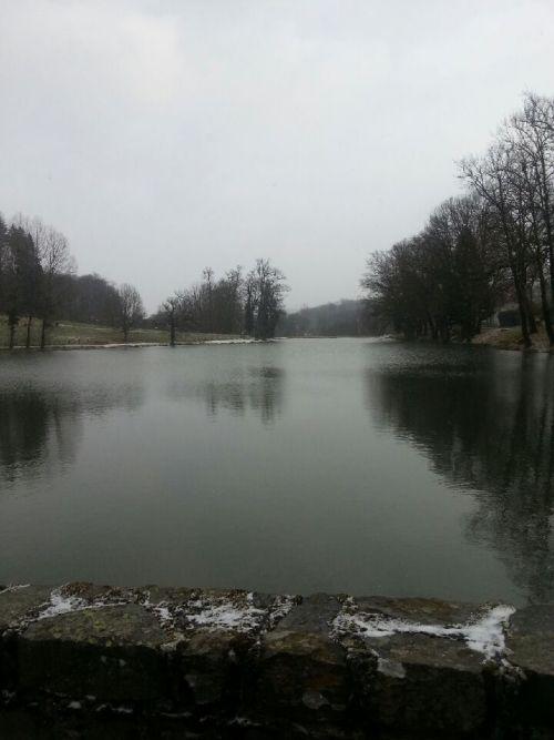 l'étang de Saint-Jal