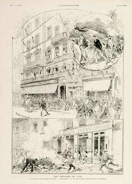 Les troubles de Lyon L-Illustration 30 juin 1894 - Musee national de l-histoire et des cultures de l-immigration CNHI.jpg