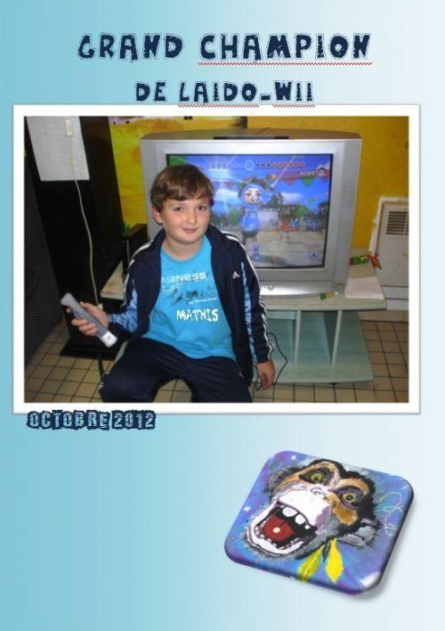 Mathis, champion de Wii-laïdo-Octobre 2012