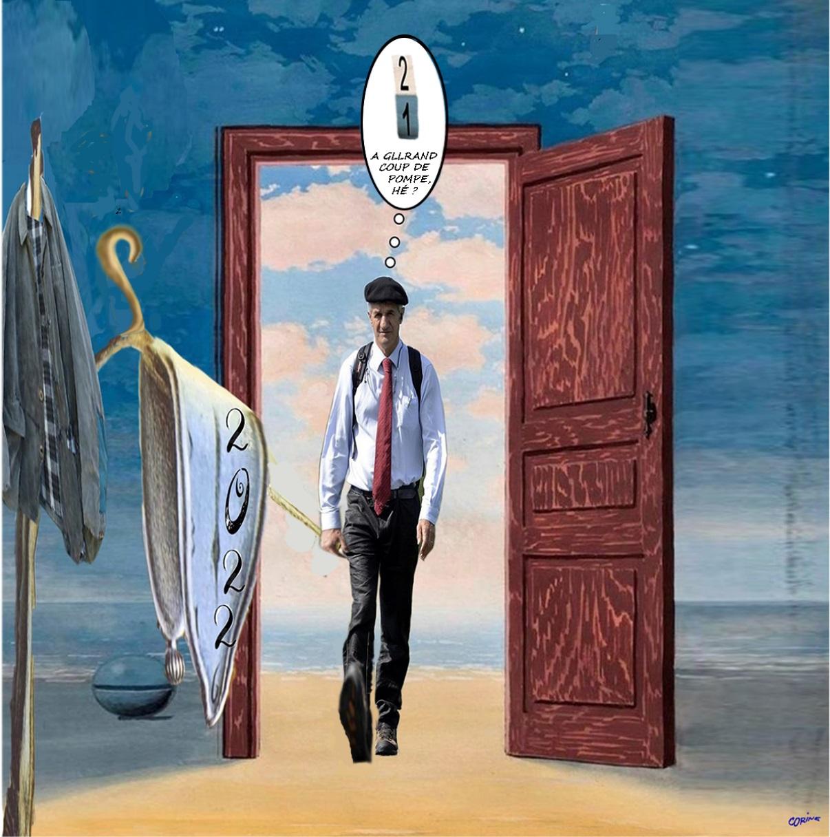 Jean Lassalle surréaliste Magritte et Dali&point d'interrog.  .jpg