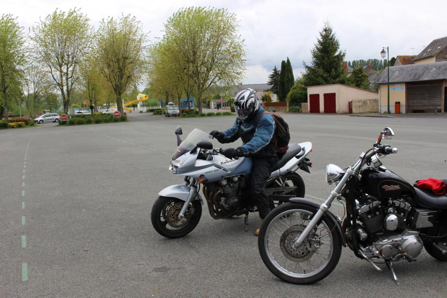 Bravo aux courageux motards