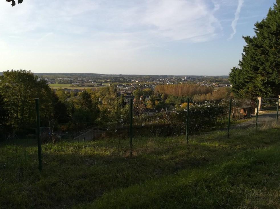 La Flèche depuis le haut de St Germain