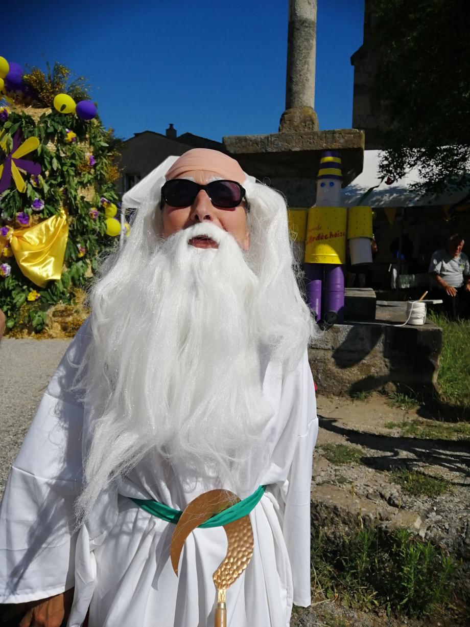 Le Druide qui a préparé la potion magique