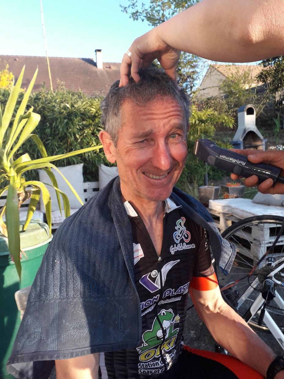 Le Prez CCS chez le coiffeur