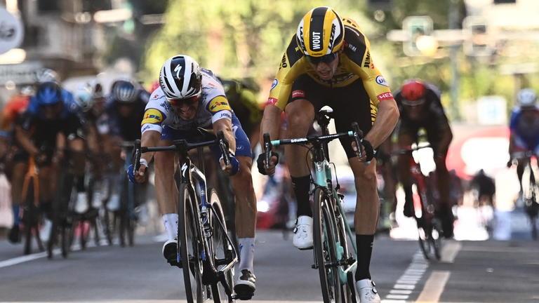 Milan San Remo 2020 finish