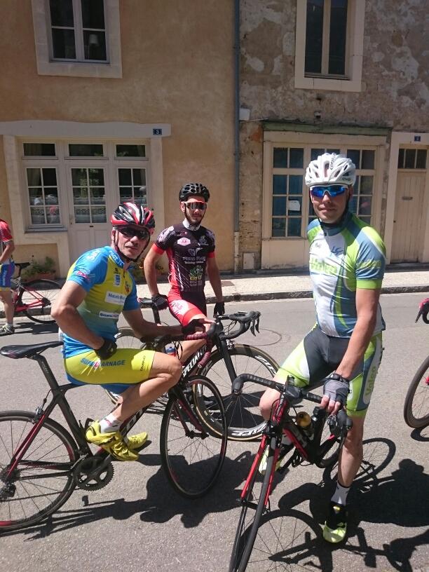 Avant le Départ ..... Michto, Adrien et Moi