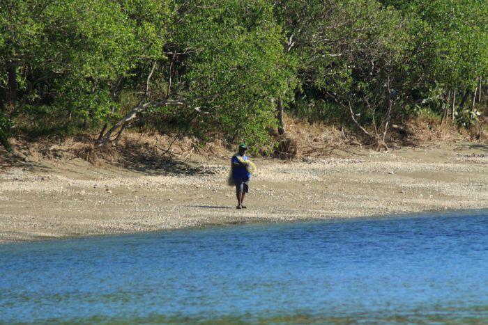 Le pêcheur à l'épervier