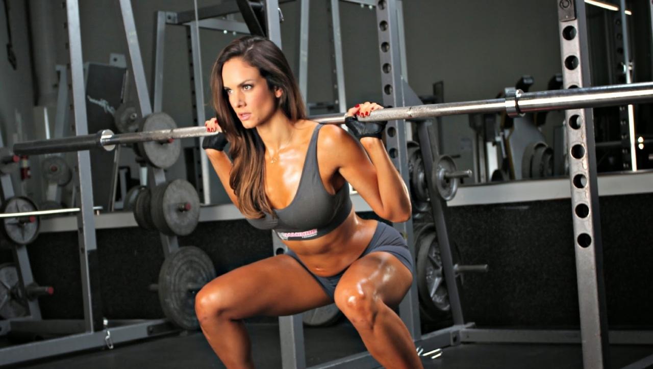 La musculation pour les femmes   bon ou pas  - Coaching sportif ... f972e231410