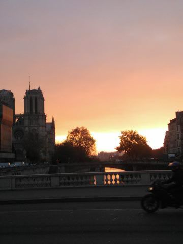 Lundi matin, décembre, Paname forever...