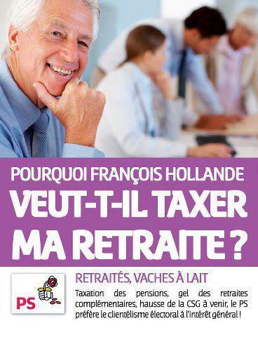Taxer les retraites ...