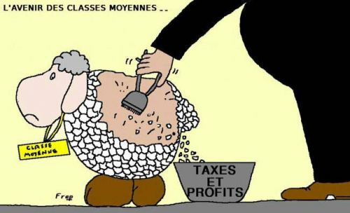 Le NU des classes moyennes ....