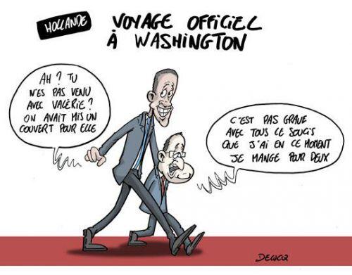 Un président français aux States
