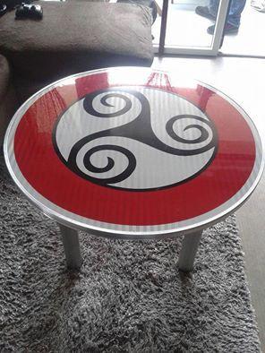Table à TRISKEL