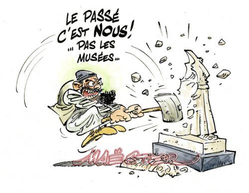 Daesh-truction de musées.