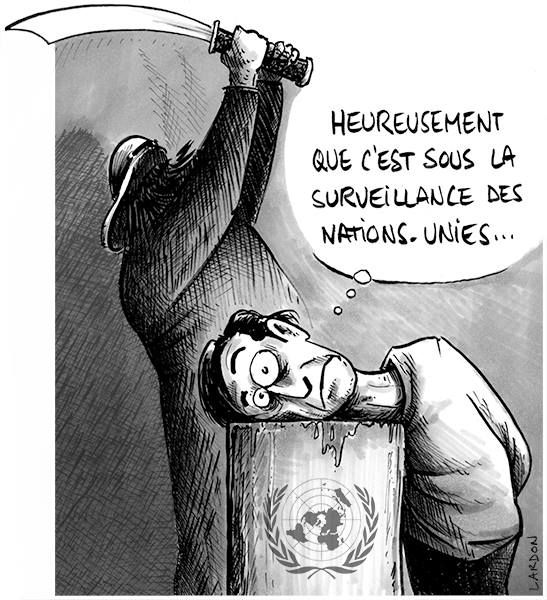 En toute sécurité sous l'égide des Nations-Unies