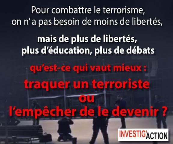 Liberté  &  Terrorisme