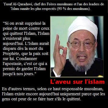 L'aveu sur cette chose qu'est l'islam ....