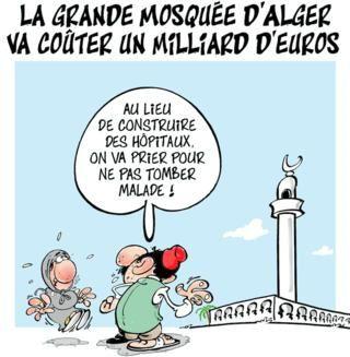 Algérie. La Grande Mosquée
