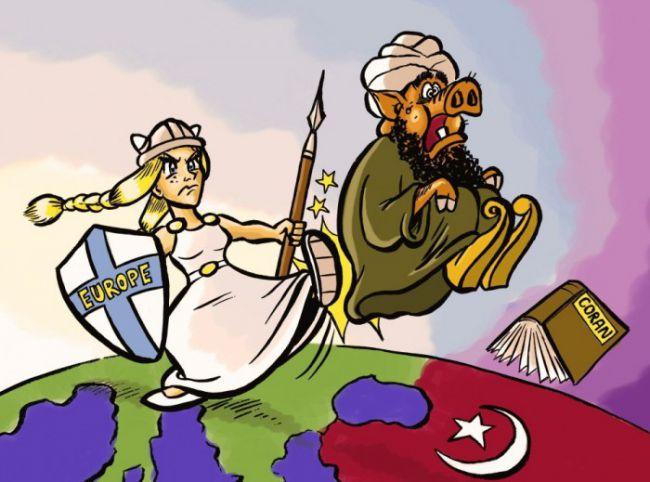 L'Europe expulse -islam-musulmans-coran