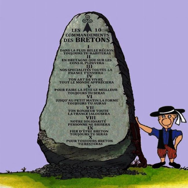 Les 10 commandements Bretons