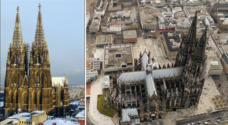 Cathédrale de Cologne - la 2ème plus haute église du monde.png