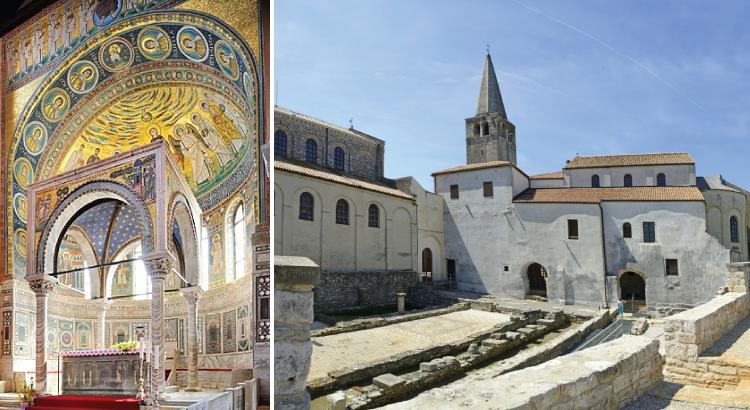Basilique Euphrasienne de Poreč - ses origines remontent au IVe siècle.png