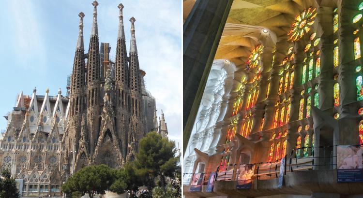 Basilique de la Sagrada Família à Barcelone - toujours en construction depuis 130 ans.png