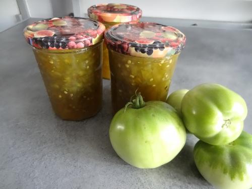 Confiture de tomates vertes à la vanille (3).JPG