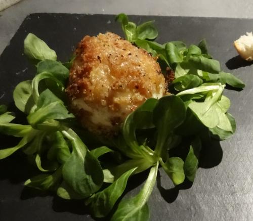Oeuf mollet frit et velouté de p de t - poireaux (3) - Copie.JPG