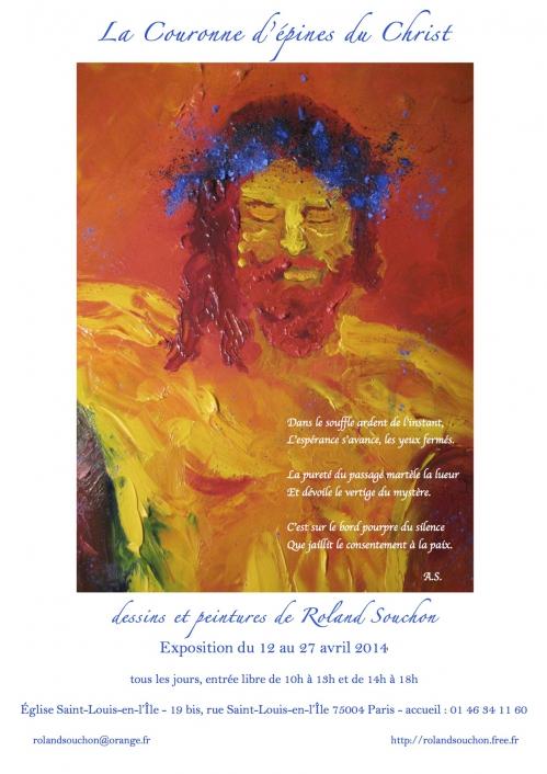 Affiche Roland Souchon - Exposition Saint-Louis 2014.jpg
