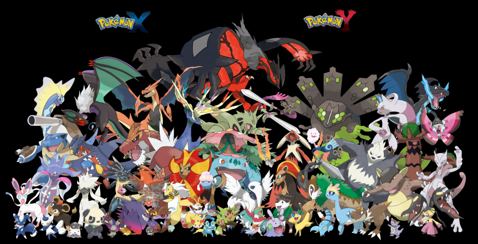 LEGENDE POKEMON: KALOS L\'UNIVERS DE X ET Y